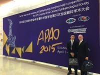 Celebración del Asia-Pacific Academia de Oftalmología Congreso en Guangzhou (China)