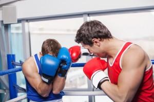 Deporte y accidentes oculares boxeo