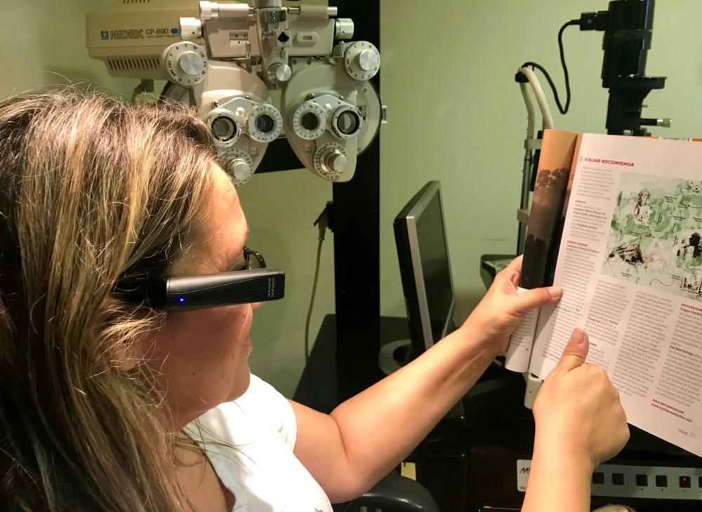 Unidad de terapia visual y baja visión