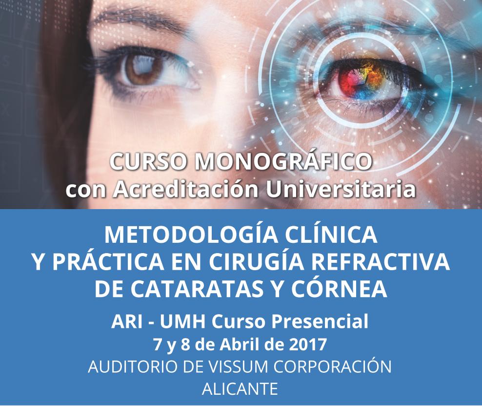 VISSUM acoge el curso ALICANTE REFRACTIVA INTERNACIONAL pionero en la enseñanza avanzada  de cirugía refractiva online