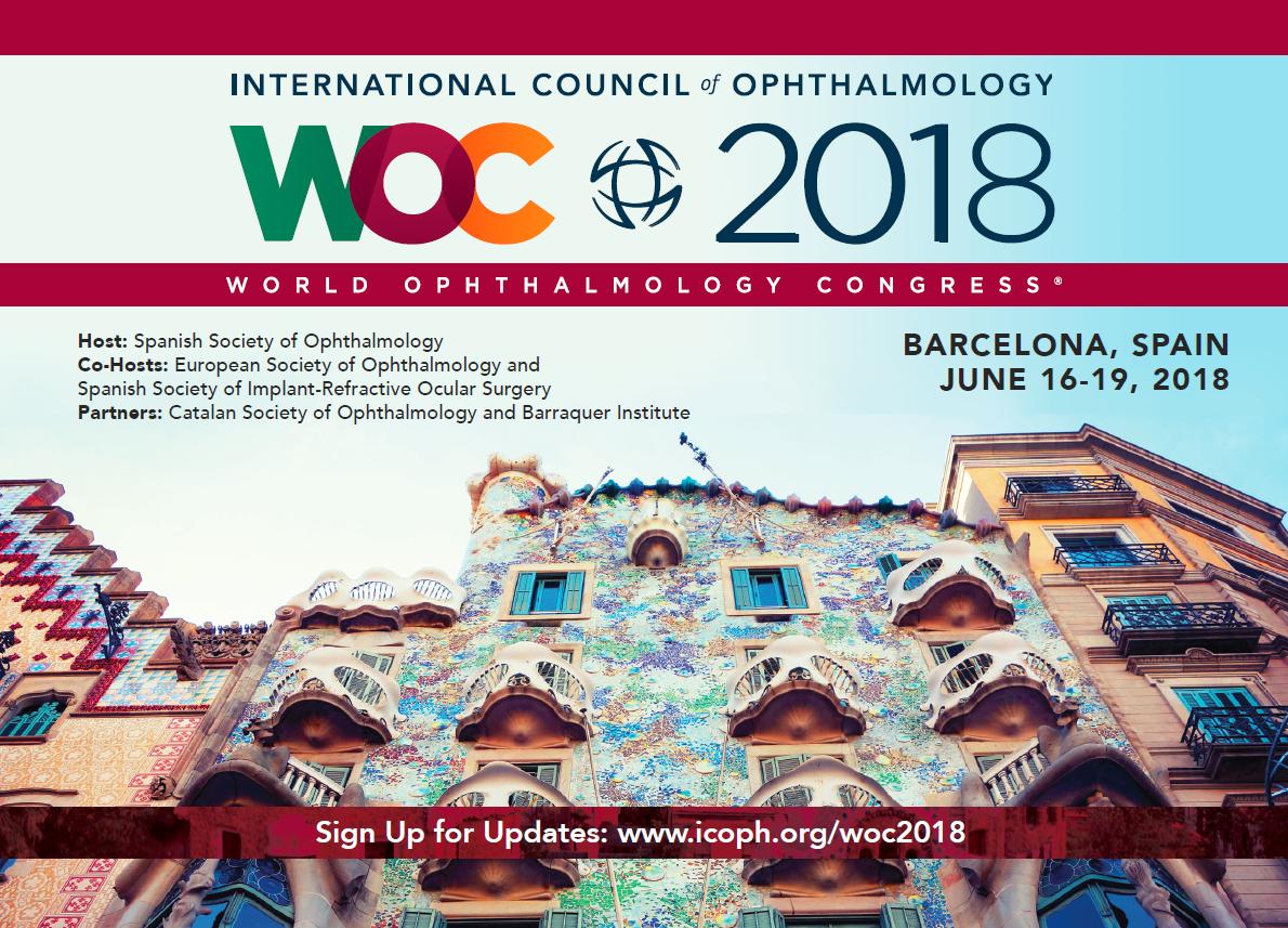 Éxito de Vissum en el Congreso Mundial de Oftalmología WOC2018